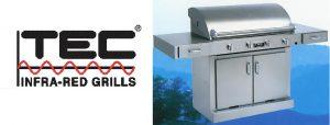 TEC infrared outdoor Patio Barbecue