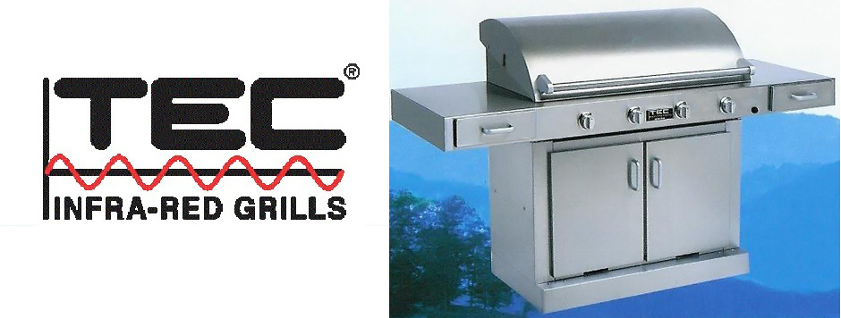 TEC infrared outdoor Patio Barbecue