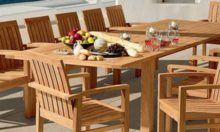 Tyrie Teak Patio Furniture 2017