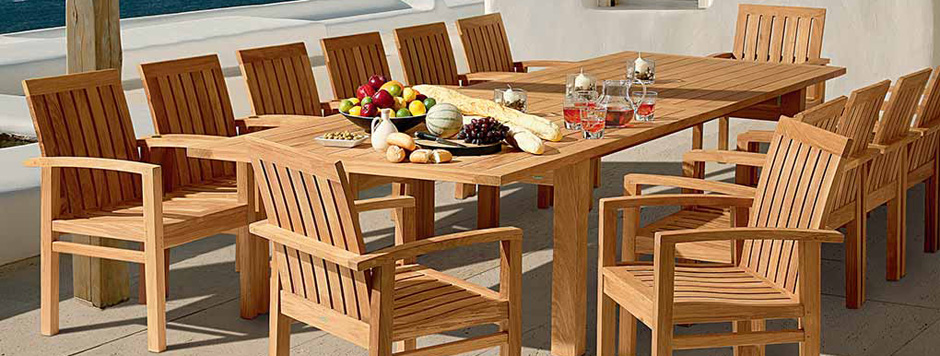 Tyrie Teak outdoor patio furniture